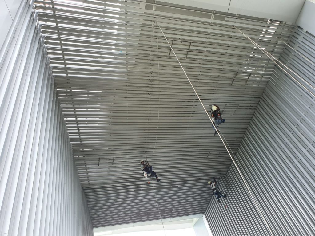 Rope Access Facade Inspection Singapore