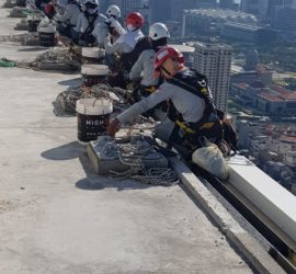 Rope Access Painting Singapore