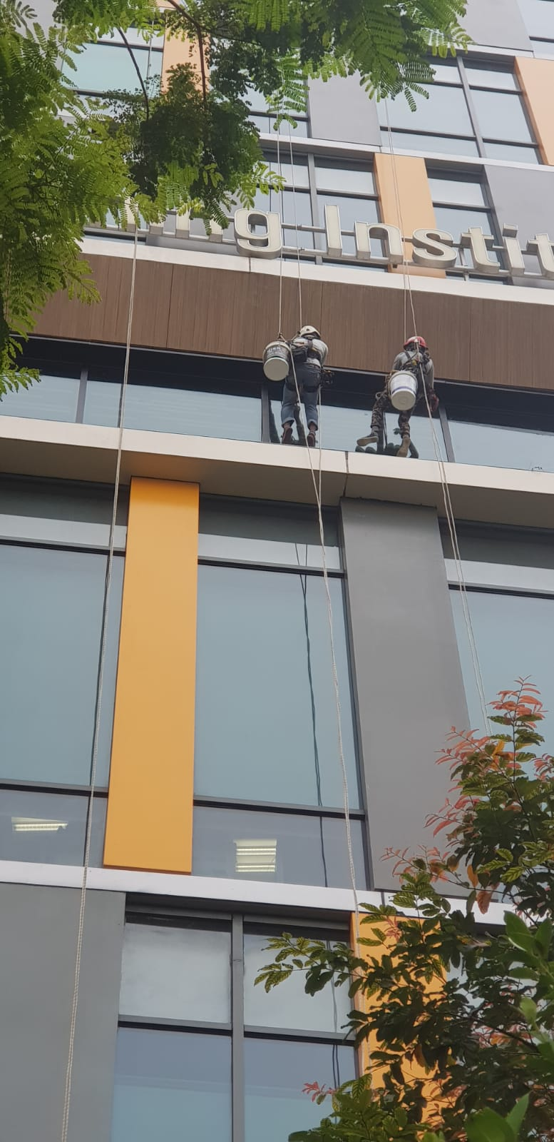 Rope Access Window Cleaning Singapore