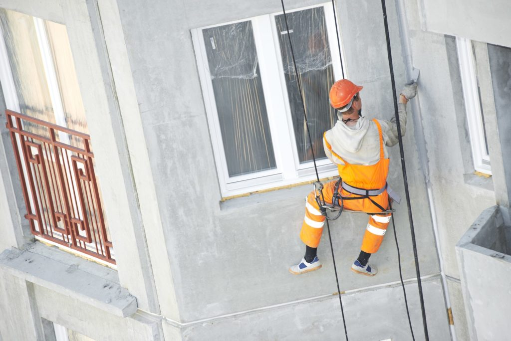 Rope Access External Facade Waterproofing Singapore